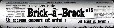 La Gazette de BaB #18 - (28 Février 2012) 1810