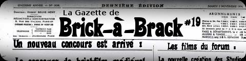 La Gazette de BaB #19 - (05 Avril 2012) 1910