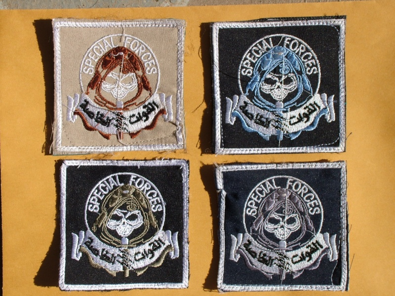 "Iraqi Special Forces ""Grim Reaper"" patches 00318"