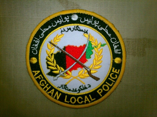 Afghan Local Police patch 20120615