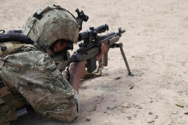 Afghanistan Partner Unit (APU) issued the Ghostex Kilo-1 Pattern 46130610