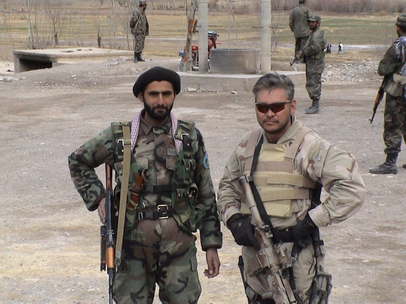 Afghan National Army Woodland Camouflage LBV Guiso_10