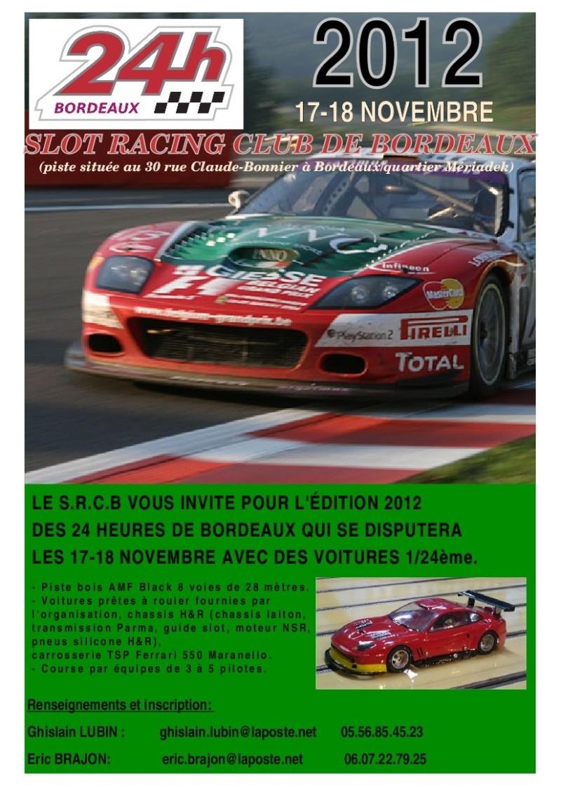 24 Heures de Bordeaux 2012 Docume10