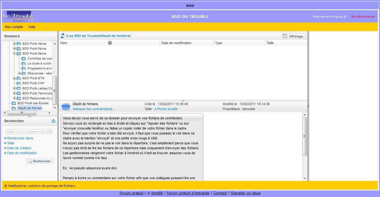 questions cons version BDD Sans_t12