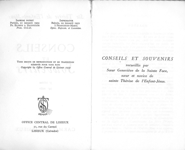 CONSEILS ET SOUVENIRS Bureau43