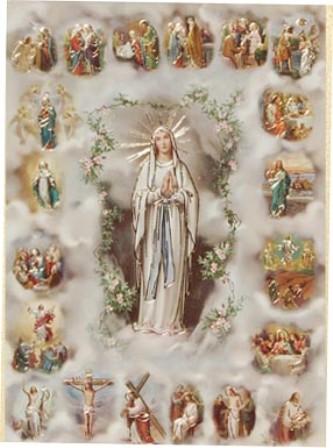 De la dévotion à la sainte Vierge Cadre-10
