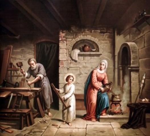 Saint Joseph artisan (1er mai 2012) Sainte13