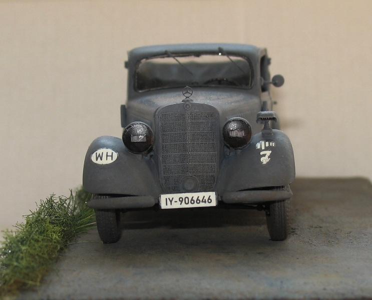 Mercédès 170V cabriolet 'Saloon'  Miniart 1/35 Img_0334