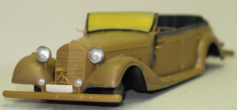 Mercédès 770K Tourenwagen 1943 ICM 1/35 Img_0440