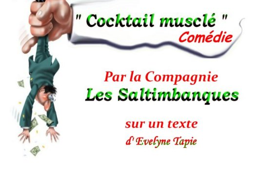 """Cocktail musclé"" Texte d'Evelyne Tapie"
