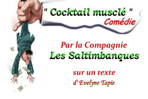 """""""Cocktail musclé"""" Texte d'Evelyne Tapie"""