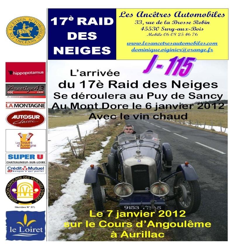 17é Raid des Neiges janvier 2012 Entete10