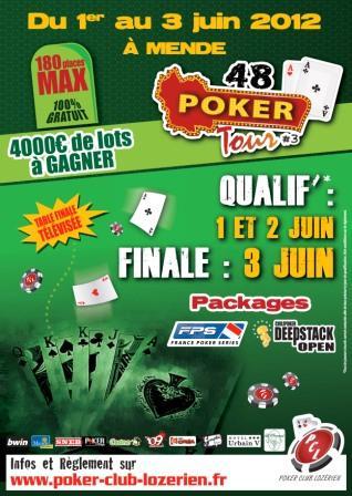 Le 48 Poker Tour #3 à Mende Affich13
