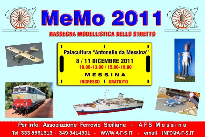 """8->11 dicembre 2011 - MeMo 2011 al Palacultura """"Antonello da Messina"""" Locand10"""