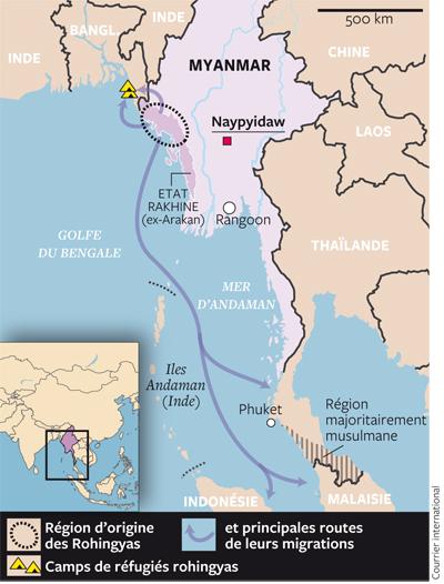 Birmanie / Bangladesh  - Répression contre les Rohingyas 1406-910