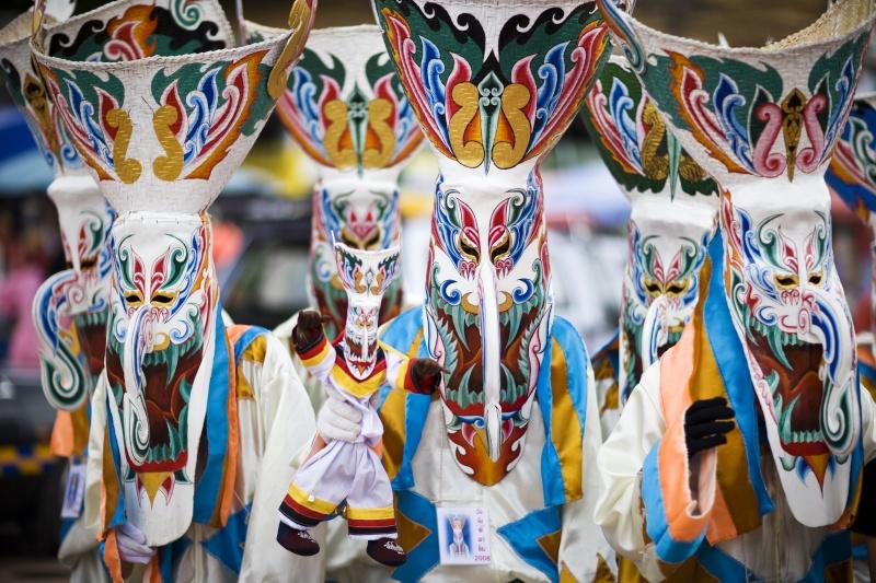 Thailande, Isan -  Le Festival « Phi Ta Khon »   26742-10