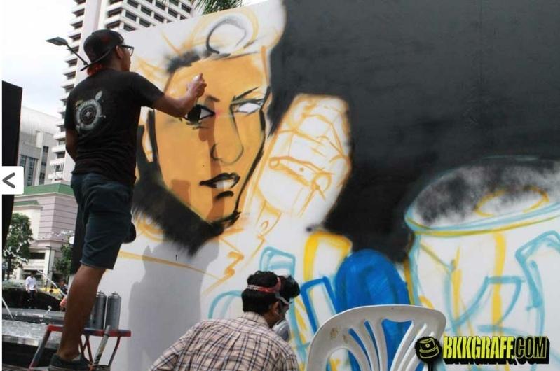 Graffitis, affiches, pub, peintures, sculptures, art - Page 4 Screen72