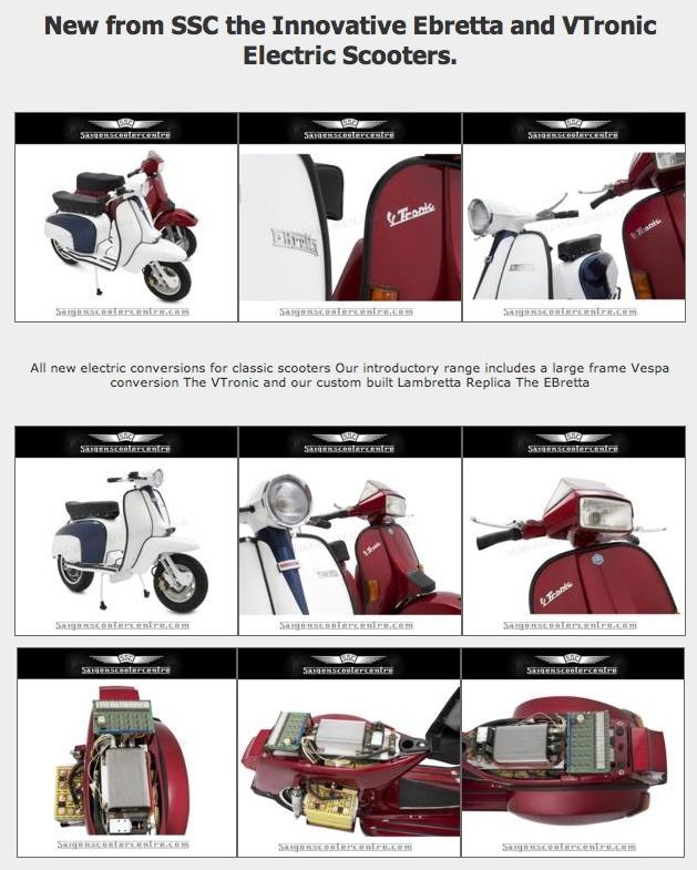Des Vespa et Lambretta d'époque électrifiés au Viêtnam Screen80