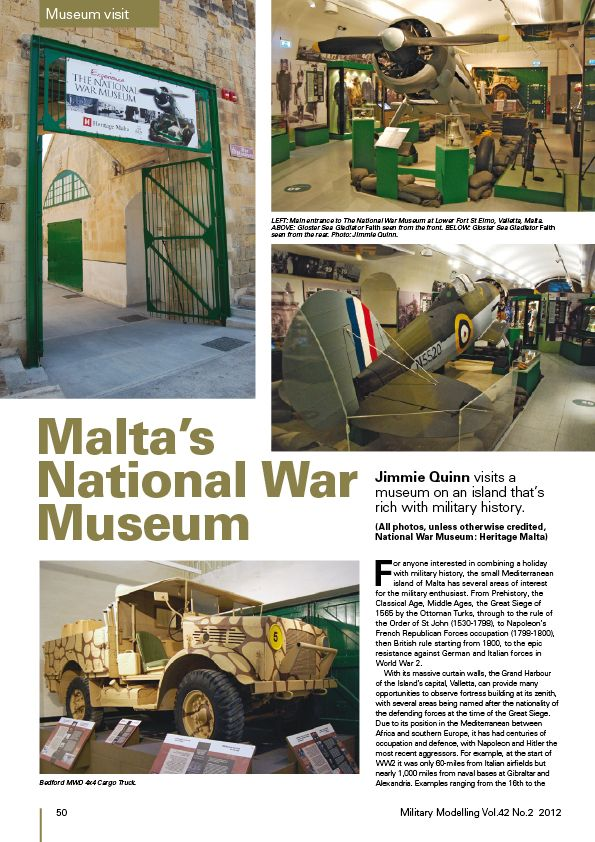 Articles about Malta Tanks in next MM Mm201211