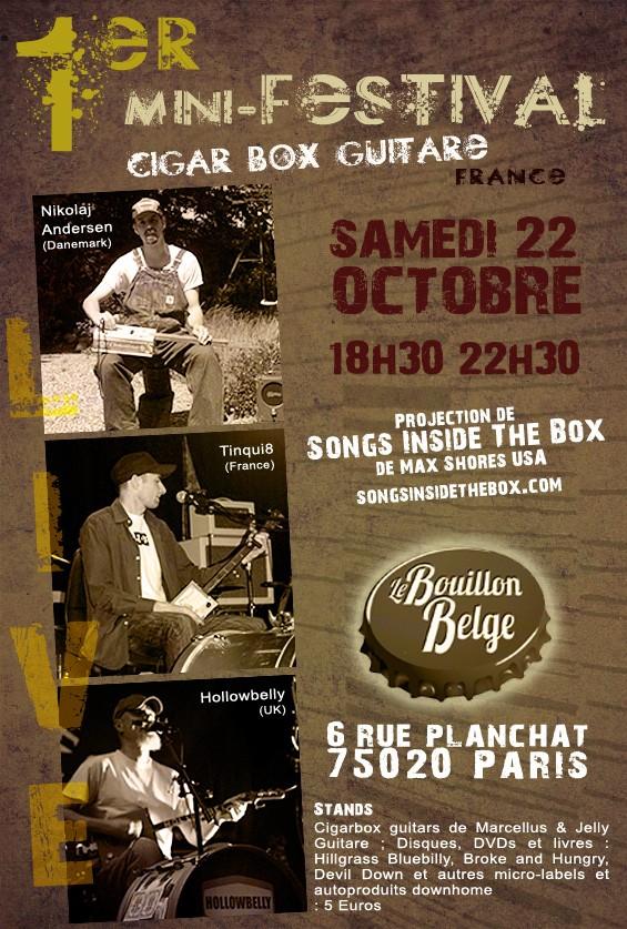 cigarbox minifest Paris Affich10