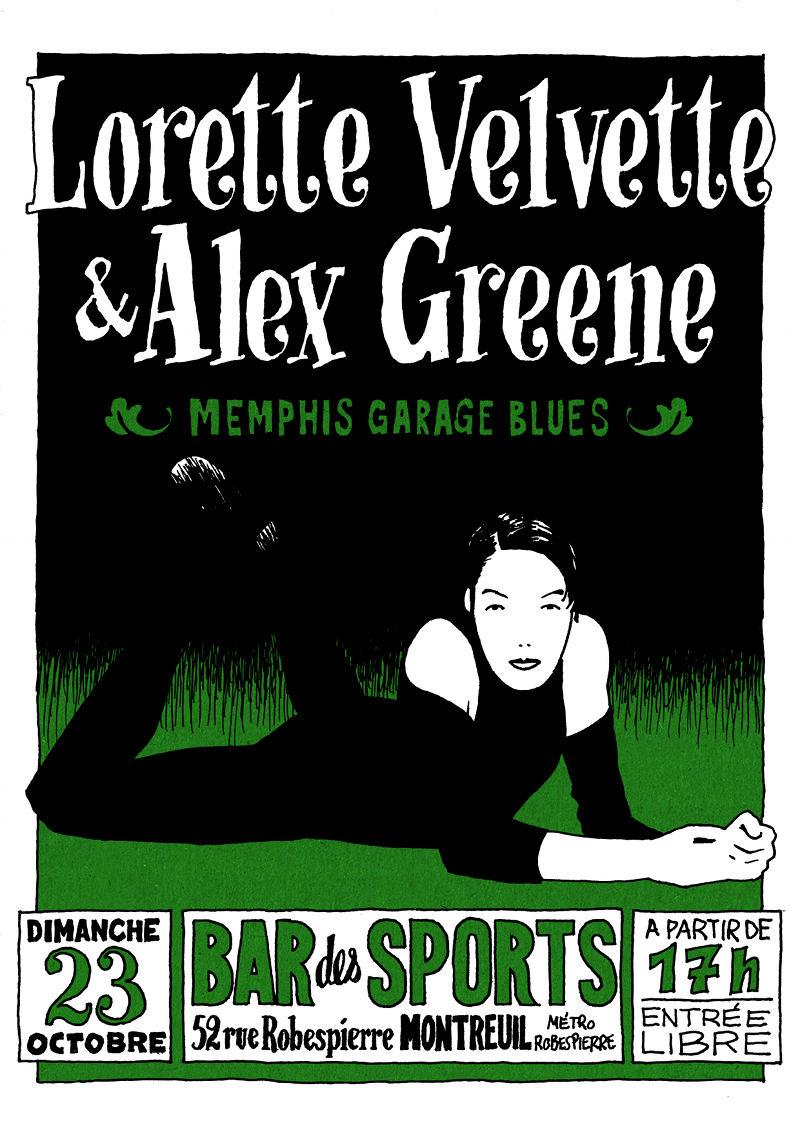 Memphis Garage-Blues Legends à Montreuil Bds23-10