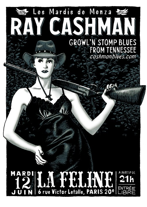 growlin' blues : Cashman à Paris Raycas10