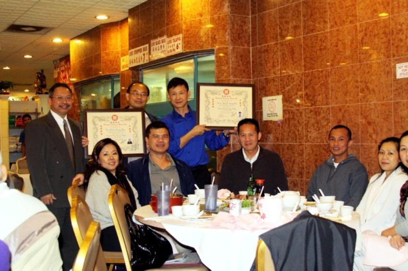 Thi Lên Đai - Tứ đẳng VS Huy and Ngũ đẳng VS Đức on Oct. 9, 2011 Vlvn-l13