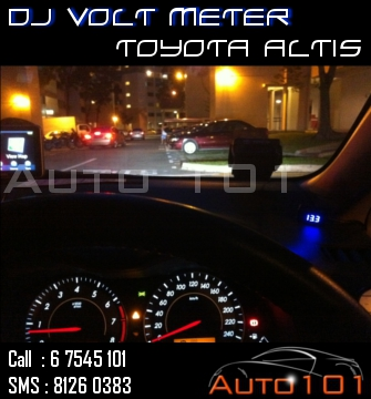 Auto 101 - LEDs - Battery - Wipers - Volt Meters - DRLs - HIDs - In Car Cameras Altis_13