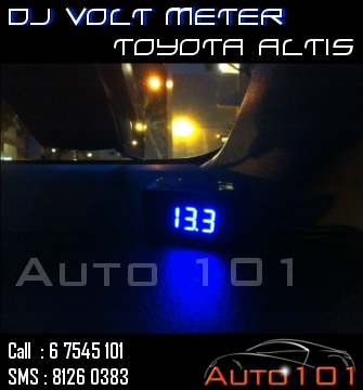 Auto 101 - LEDs - Battery - Wipers - Volt Meters - DRLs - HIDs - In Car Cameras Altis_14