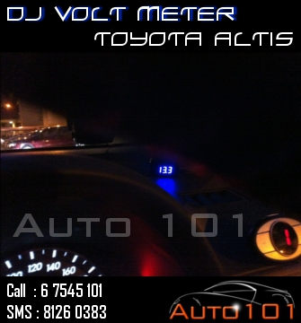 Auto 101 - LEDs - Battery - Wipers - Volt Meters - DRLs - HIDs - In Car Cameras Altis_15