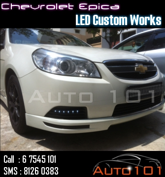 Auto 101 - LEDs - Battery - Wipers - Volt Meters - DRLs - HIDs - In Car Cameras Chevy_10