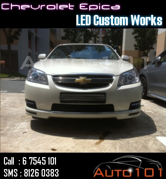 Auto 101 - LEDs - Battery - Wipers - Volt Meters - DRLs - HIDs - In Car Cameras Chevy_11