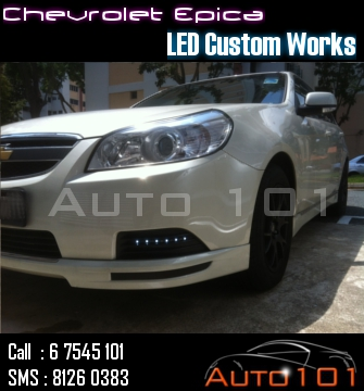 Auto 101 - LEDs - Battery - Wipers - Volt Meters - DRLs - HIDs - In Car Cameras Chevy_12