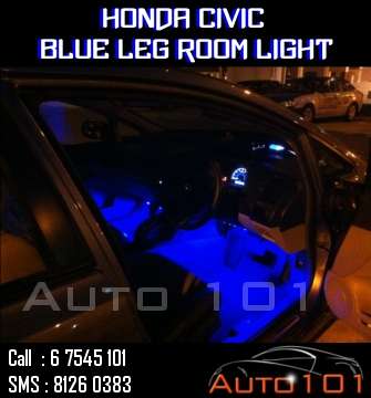 Auto 101 - LEDs - Battery - Wipers - Volt Meters - DRLs - HIDs - In Car Cameras Civc_b10