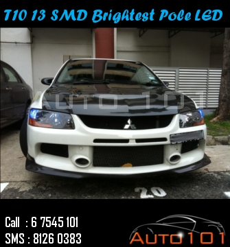 Auto 101 - LEDs - Battery - Wipers - Volt Meters - DRLs - HIDs - In Car Cameras Evo9_t10