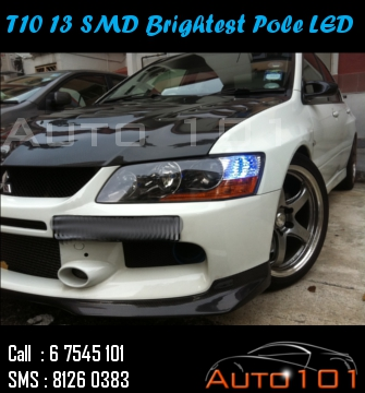 Auto 101 - LEDs - Battery - Wipers - Volt Meters - DRLs - HIDs - In Car Cameras Evo9_t12
