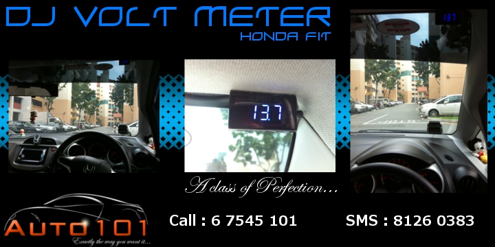 Auto 101 - LEDs - Battery - Wipers - Volt Meters - DRLs - HIDs - In Car Cameras Honda_11