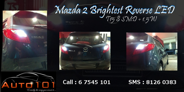 Auto 101 - LEDs - Battery - Wipers - Volt Meters - DRLs - HIDs - In Car Cameras Mazda211