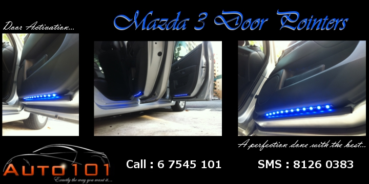 Auto 101 - LEDs - Battery - Wipers - Volt Meters - DRLs - HIDs - In Car Cameras Mazda_10