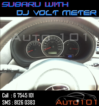 Auto 101 - LEDs - Battery - Wipers - Volt Meters - DRLs - HIDs - In Car Cameras Subaru14
