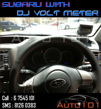 Auto 101 - LEDs - Battery - Wipers - Volt Meters - DRLs - HIDs - In Car Cameras Subaru15