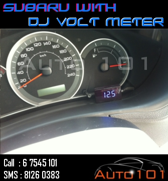 Auto 101 - LEDs - Battery - Wipers - Volt Meters - DRLs - HIDs - In Car Cameras Subaru16