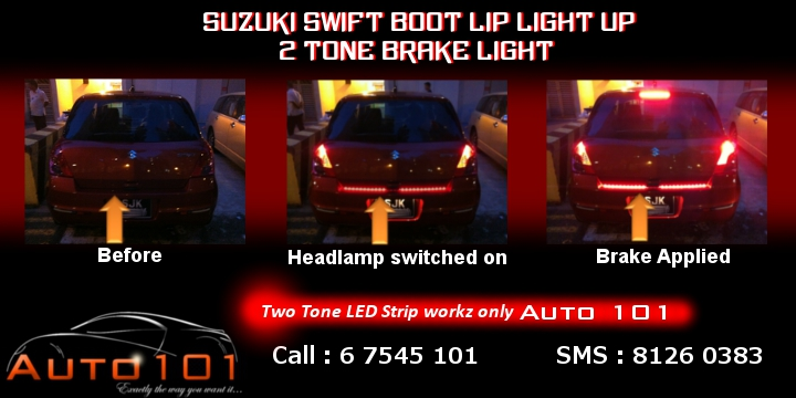 Auto 101 - LEDs - Battery - Wipers - Volt Meters - DRLs - HIDs - In Car Cameras Swift_14