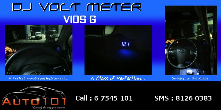Auto 101 - LEDs - Battery - Wipers - Volt Meters - DRLs - HIDs - In Car Cameras Volt_m10