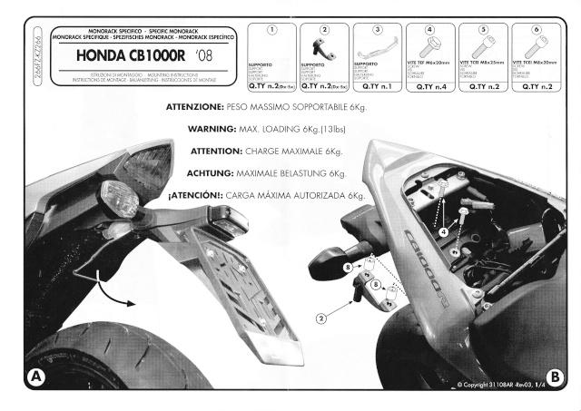 [Tuto] Montage des supports Top Case Givi Monora10
