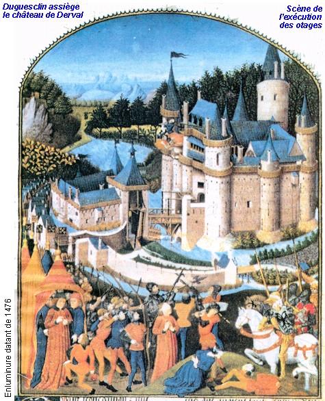 Guerre de cent ans Siege-10