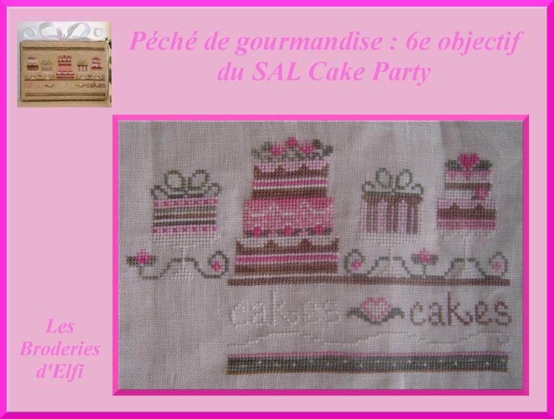 6e objectif du Cake party  6eobje11
