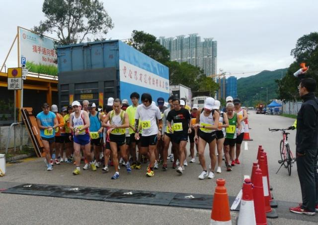 02/12/2012 - 20km à Hong Kong Cyber10