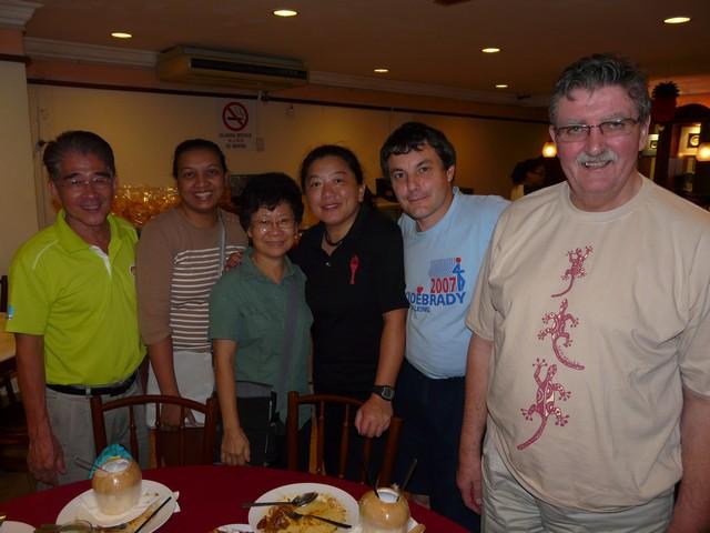 Un des juges de marche aux JO 2012: Mr Khoo Chong Beng P1400211