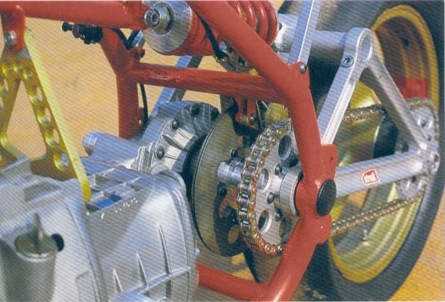 Cadre pour moteur BMW _550_m11